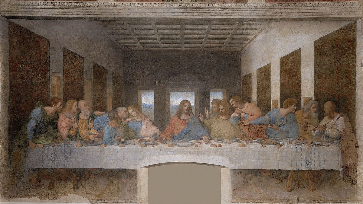 scan of the Last Supper