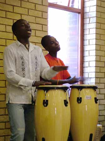 Two drummers
